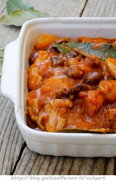 Spezzatino di tacchino con zucca e olive ricetta veloce vickyart arte in cucina