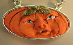 Pumpkin Face Pendant Necklace http://cgi.ebay.com/ws/eBayISAPI.dll?ViewItem&item=161116583629