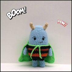 A[mi]dorable Crochet: Alien Super Hero Pattern