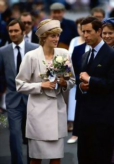 Princess Diana in the Shetland Islands, July 1986