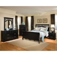Textured Two Tone Simmons Bedroom Suite San Juan Bedroom Set