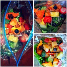 Zip-Lock salad. take it anywhere!