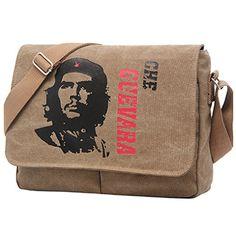 1bbb319706bd Eco-Friendly Canvas Che Guevara Sling Bag Messenger Bag Male Shoulder  Crossbody Bags