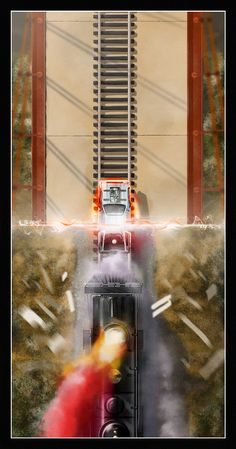 """""""88 MPH"""" Back to the Future posters by Andy Fairhurst."""