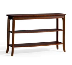 Chloe Console Table, Mahogany stain