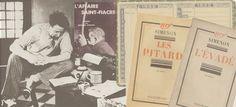 SIMENON SIMENON. 1932 L'ANNO DEI RECORD : SEI ROMANS DURS E QUATTRO MAIGRET - Il secondo anno dei Maigret, l'anno dei romans durs, l'anno dell'ingresso in Gallimard. Un anno difficile da dimenticare.