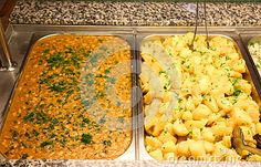 Baked Beans And Peasant Potatoes Stock Photo - Image of lunch, cooking: 80333716 Baked Beans, Parsley, Macaroni And Cheese, Potatoes, Lunch, Baking, Dinner, Ethnic Recipes, Image