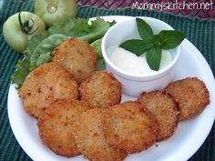 Mommy's Kitchen - Recipes From my Texas Kitchen!: Fried Green Tomatoes & A Giveaway Winner.