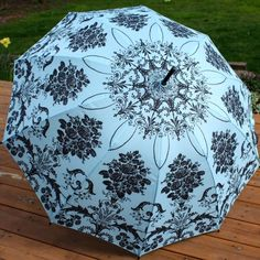 Laura Ashley Umbrella   ... by SillyBlueness on Kites, Parasols, Umbrellas for after ceremony