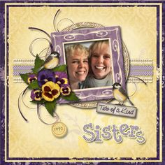 Two of a Kind Sisters by Tbear. Kit: The Thing About Spring by Carole's Share the Luv http://scrapbird.com/designers-c-73/a-c-c-73_514/caroles-share-the-luv-designs-c-73_514_518/the-thing-about-spring-p-17938.html