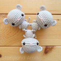 Storyland Amis-Cute amigurumi mice
