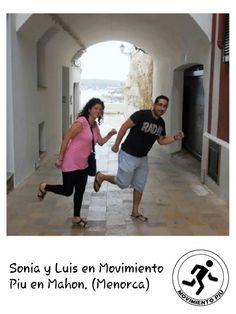 Movimiento Piu en Menorca.