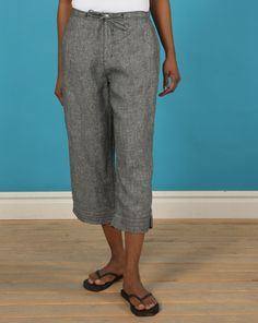 Cesta Capri Womens Lightweight, breathable, relaxed fit cotton ...