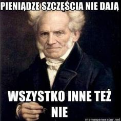 Schopenhauer vol. n-ty Sad Pictures, Best Funny Pictures, Funny Images, Reaction Pictures, Wtf Funny, Hilarious, Best Of 9gag, Funny Mems, Depression Memes