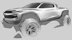Honda, Mercedes, VW and Chevrolet Concepts by CCS Grad Darby Barber – Form Trends