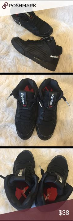 Reebok Dance 3D Ultralite High Tops Excellent condition. Dance high tops perfect for Zumba or dance fitness. Wore these mainly for my Zumba classes but are a little too big for me. Fits 7/7.5. Reebok Shoes Sneakers