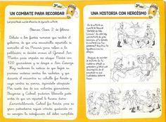 Actividades Escolares: actividades sobre San Martín Leo, Kindergarten, Education, History, Infant Learning Activities, Writing Assignments, National Flag, Historia, Kindergartens