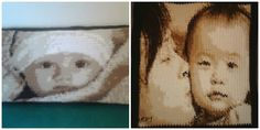 What's the Difference Between Crocheting a Photo Pattern from the Bottom Up and Side to Side?