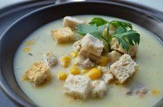 Niedzielna zupa kukurydziana