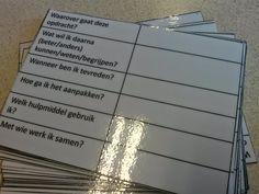 voor de groep: Aan de slag met doelen stellen Kwaliteitskaart kaart doelen stellen met kinderen