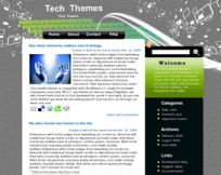 Tech-Meteor WordPress theme