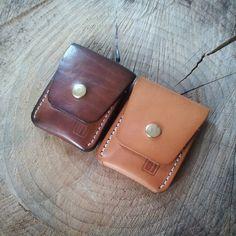 "102 Likes, 11 Comments - Jason P Watkins (@jpw.leatherworks) on Instagram: ""A whole year of use. #patina #handsewn #handmade #leathercraft #leather #vegtan #wallet #edc…"""