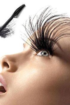 Eyebrow Makeup Tips, Eye Makeup Steps, Skin Makeup, Makeup Tricks, Makeup Ideas, Beauty Skin, Beauty Makeup, Lash Extension Mascara, Fiber Mascara