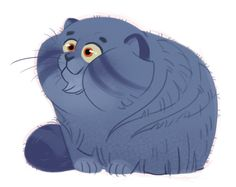 126: Manul Manul cats are so fat and foofy! Super adorable.