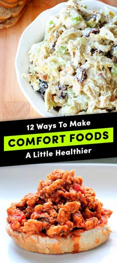 12 Clever Ways To Lighten Up Your Favorite Comfort Foods