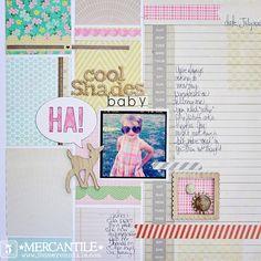 Megan Klauer - like all the little bits of patterned paper