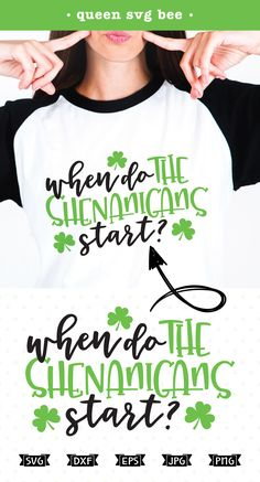 St Patricks Day SVG design for Cricut and Silhouette heat transfer vinyl crafts as well as scrap booking, card making and iron on transfer projects. St Patrick's Day Sayings, Cricut Air, Cricut Vinyl, Silhouette Vinyl, Silhouette Projects, St Patricks Day Quotes, Create Shirts, Vinyl Labels, St Patrick Day Shirts