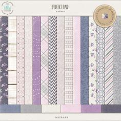 Perfect pair {papers} by Anita Designs | September 2014 Memory Mix @ Memory Scraps