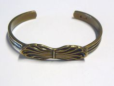 "Kalevala Jewelry ~Vintage ""Lehti"" #Bronze #Bracelet by Germund Paaer.   eBay.com #Kalevala"
