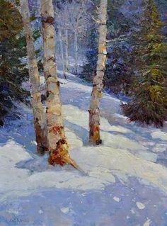 Kent Wallis | Winter Shadows | Meyer Gallery