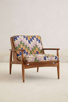 Anthropologie - Hanne Checked Armchair. $1898.00