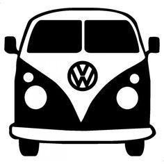 free vw bus clipart - Google Search