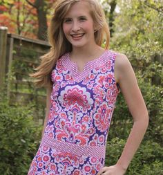 Rebecca Shift Dress for Women