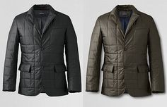 LE Tailored Quilted Jacket | Dappered.com