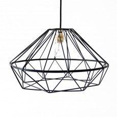 Facet Wire Pendant Light by Indigi Designs