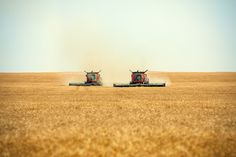 Twin Combines | Flickr - Photo Sharing!