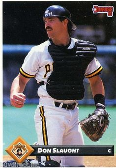 RARE 1993 DONRUSS SERIES 2 DON SLAUGHT PITTSBURGH PIRATES MINT