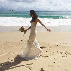 The Crete looking gorgeous in Australia. via Looking Gorgeous, Destination Wedding, Gowns, Bride, Love, Wedding Dresses, Instagram Posts, Fashion, Vestidos