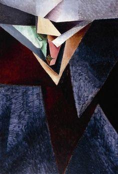 Jacques Villon (b. Gaston Emile Duchamps, French 1875-1963) Portrait de M J.B. (Jacques Bon) peintre 1912
