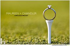Creative RING shots - Project Wedding Forums golf tee wedding ring photo shot