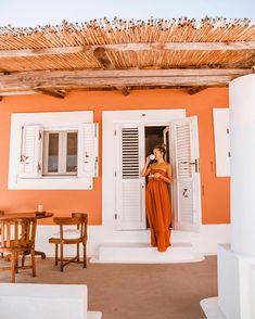 Quiet mornings in my little cabin on a little island ☕ #panarea #italiansummer