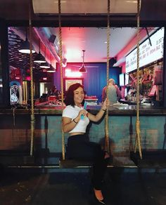 This Bar In Dallas Is Actually A Giant Adult Playground With See-Saws And Boozy Juice Pouches The Playground Bar In Dallas Is A Playful Adult Paradise - Narcity Dallas Travel, Texas Travel, Travel Usa, Texas Roadtrip, Dallas Bars, Dallas Texas, Austin Texas, Oh The Places You'll Go, Places To Travel