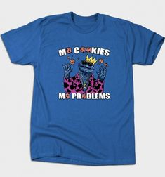 Notorious Monster T-Shirt - Cookie Monster T-Shirt is $12 today at Busted Tees!
