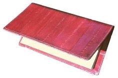Eel Skin Checkbook cover
