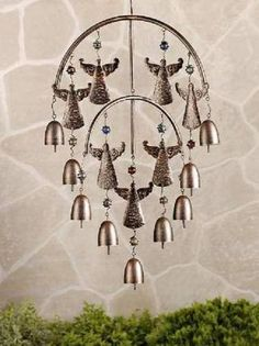 ANGELS & BELLS MOBILE Garden Windchime