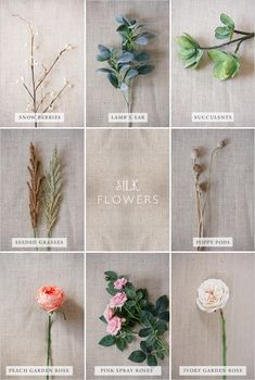 I like this idea of using silk flowers. Maybe combo with fresh...money saver!
